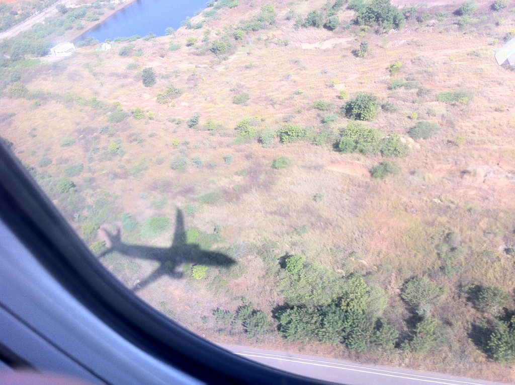 about-to-land